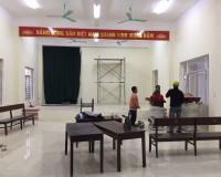 Thi công hội trường thôn Phúc Hậu – Đông Anh